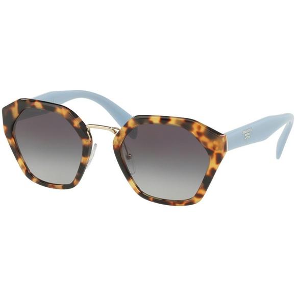 1205e0b2c3b Prada Sunglasses Light Havana w Grey Lens